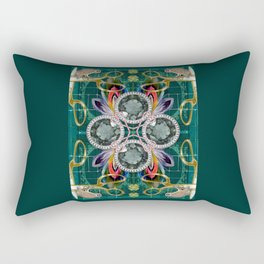 Four of Pentacles Rectangular Pillow