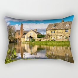 The Old Mill  Rectangular Pillow