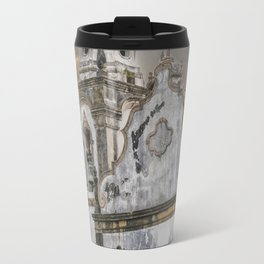 Exterior Facade Antique Colonial Church Olinda Brazil Travel Mug