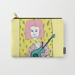 Julia. Musician Woman Carry-All Pouch