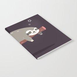 Sloth card - good night Notebook