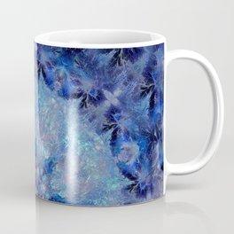 Frozen Leaves Mandala Coffee Mug