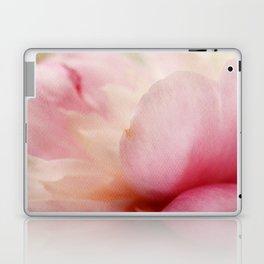 Soft Peony Petals Laptop & iPad Skin