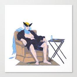 bird man Canvas Print