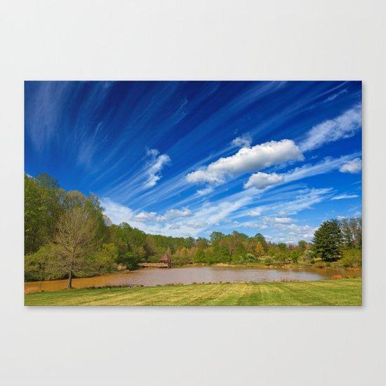 Meadowlark Cloud Gardens Canvas Print