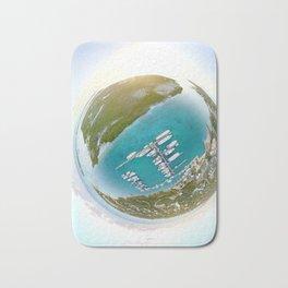Tiny Planet Turks and Caicos Bath Mat