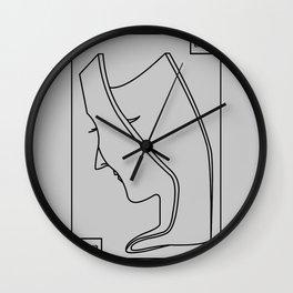 TumblrOverlays Wall Clock
