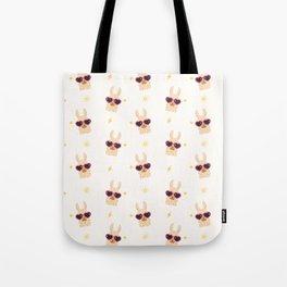 Hipster Llamas Tote Bag