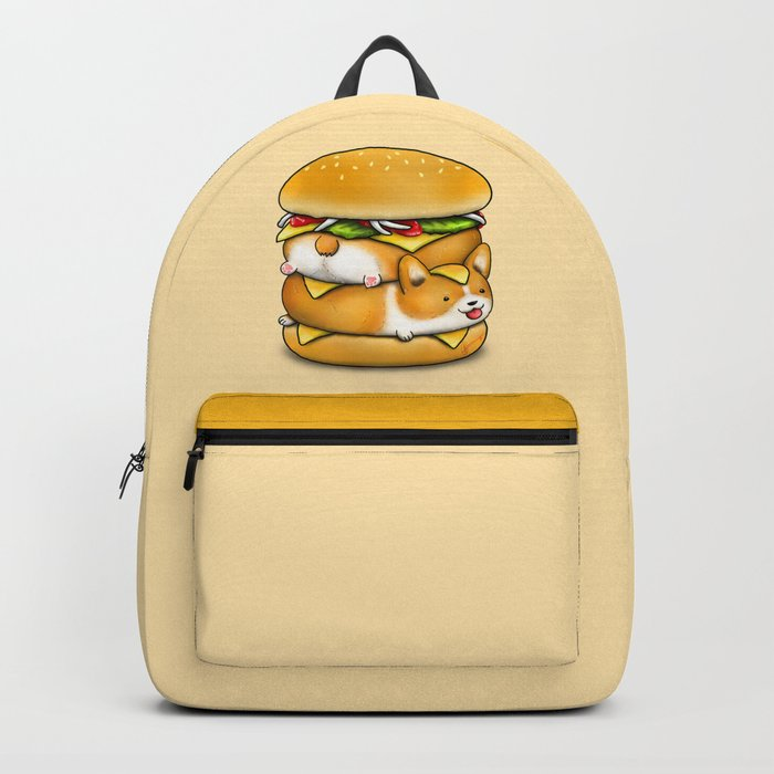 Double Corgi Pounder Backpack
