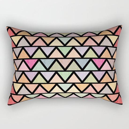 Lovely geometric Pattern V Rectangular Pillow
