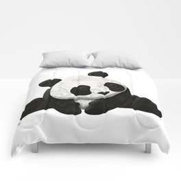 Lace Agate Panda Comforters