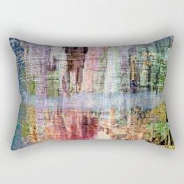 Born in a Wonderful World Rectangular Pillow