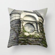 Rapunzel Castle (Central Park) Throw Pillow