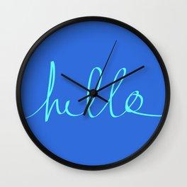 Hello, Sailor Wall Clock