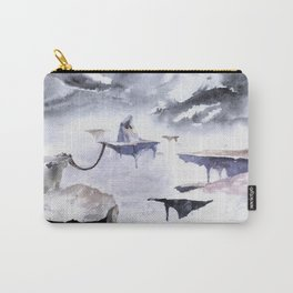 Isolated Volcano Carry-All Pouch