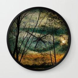 Nature lake Wall Clock