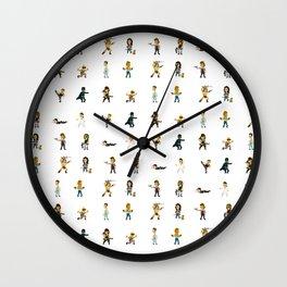 [BadAss Action Heroes] Wall Clock