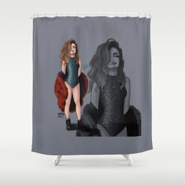 S. Gomez Shower Curtain