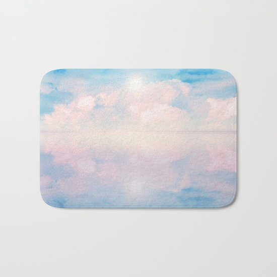 Out to Sea IV Bath Mat