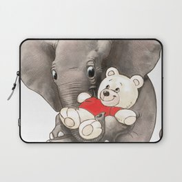 Baby Boo with Teddy Laptop Sleeve