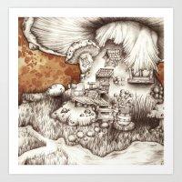Muscaria Art Print