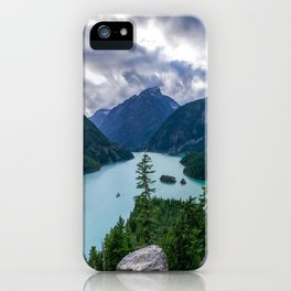 Crushing clouds iPhone Case