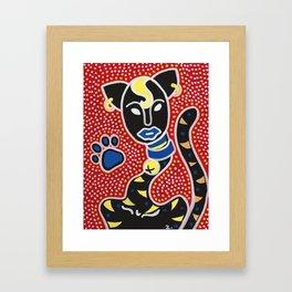 Un Gato Framed Art Print