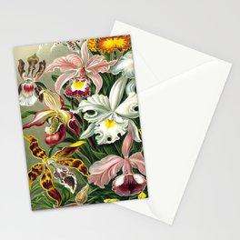 Vintage 1865 Botanical Orchids Stationery Cards