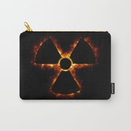 Nuclear Icon in Fire Carry-All Pouch