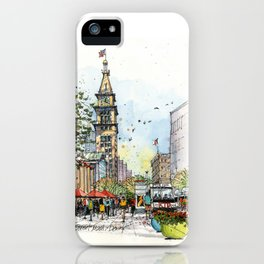 Denver's 16th Street iPhone Case