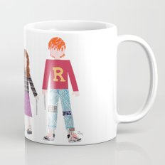 Harry, Hermione, and Ron Mug
