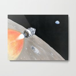 Trans Earth Injection Metal Print