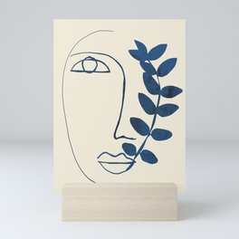 Abstract Face 5 Mini Art Print