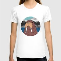 walrus T-shirts featuring Walrus by Diana Hope