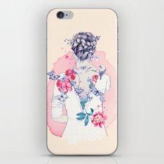 Undress me iPhone & iPod Skin