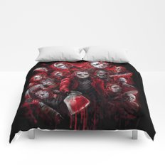 Jason Voorhees Friday the 13th Many faces of Comforters