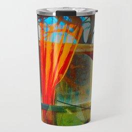 The Orange Curtain Travel Mug