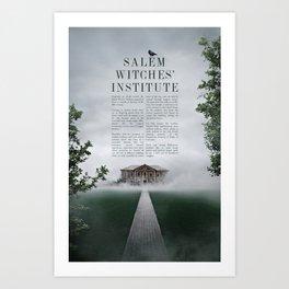 Wizarding Schools Around the World: Salem Art Print
