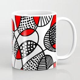 Abstract 211216 - Red Coffee Mug