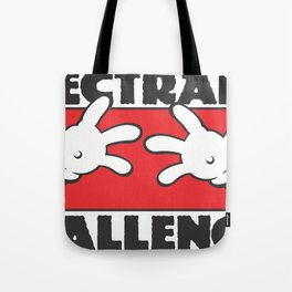 Plectrally Challenged Tote Bag