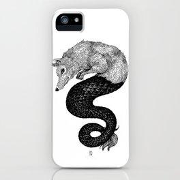 Loup de mer iPhone Case