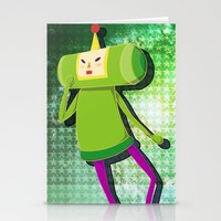 katamari Stationery Cards featuring Katamari Cousins - Prince by cakeisforrobots