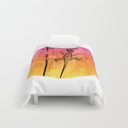 Abstract colors in everywhere Comforters