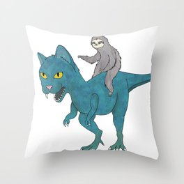 To Victory Throw Pillow