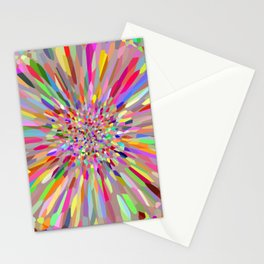 Confetti Summer Flower Stationery Cards