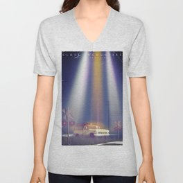Close encounters of the third kind vintage poster Unisex V-Neck