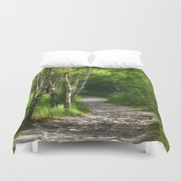 Forest path 45 Duvet Cover