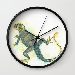 Liazard Wall Clock