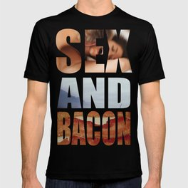 SEX AND BACON T-shirt