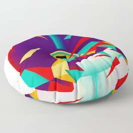 House music all night long Floor Pillow